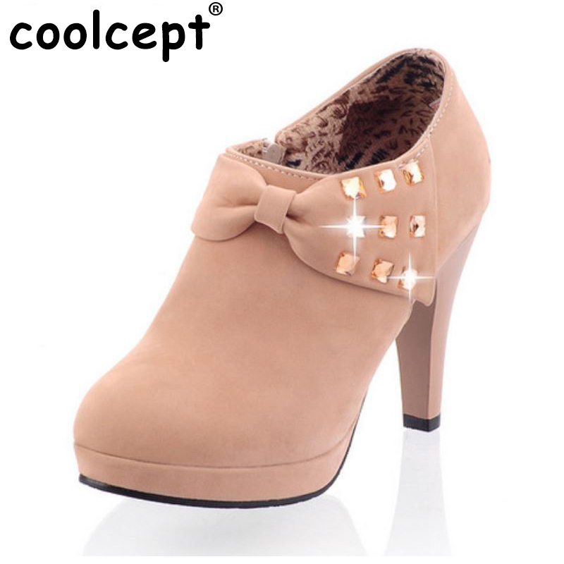 CooLcept free shipping high heel shoes platform women sexy dress footwear fashion pumps P13167 hot sale EUR size 32-43 hot sale brand ladies pumps sexy women high heels platform sexy women high heel pumps wedding shoes free shipping 2888 1