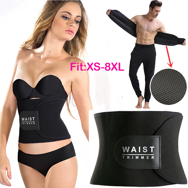 7802c15821 AONVE Slimming Belt Waist Trainer Modeling Strap Hot Shapers Fitness ...