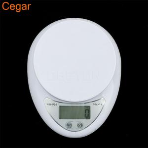Cegar LCD Electronic Digital Weight Scale Kitchen Accessory