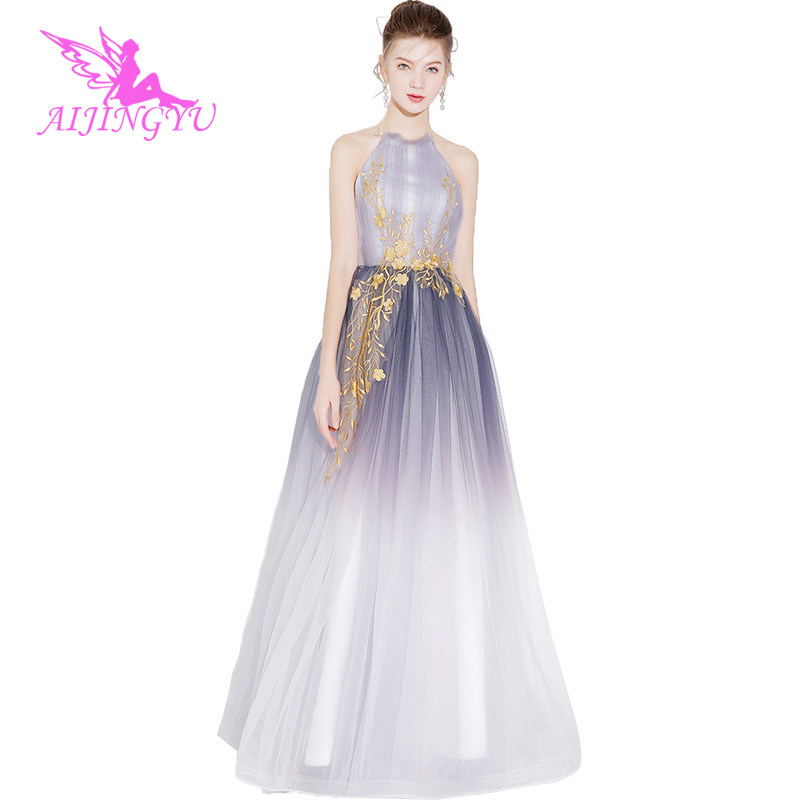 AIJINGYU Plus Size Evening Dress Party Sexy Gown 2018 Women Elegant Formal Special Occasion Dresses Fashion Gowns FS566