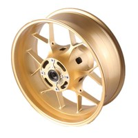 Motorcycle Rear Wheel Rim Gold 1PCS For Honda CBR1000RR 2012 2014 2013