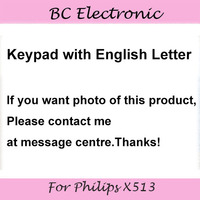 New Keypad For Philips X513 Cellphone Original Key Button For Xenium CTX513 Mobile Phone Free Shipping