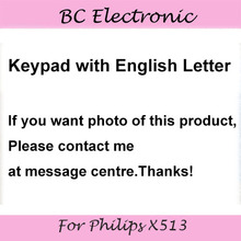 New keypad For Philips X513 Cellphone,original key button For Xenium CTX513 Mobile Phone Free shipping