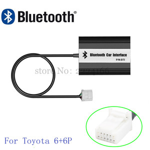 Image 2 - Автомобильный MP3 плеер siteiel, Bluetooth A2DP, адаптер для Toyota Lexus Scion, AUX, USB зарядка, Handsfree, Bluetooth, автомобильный Стайлинг