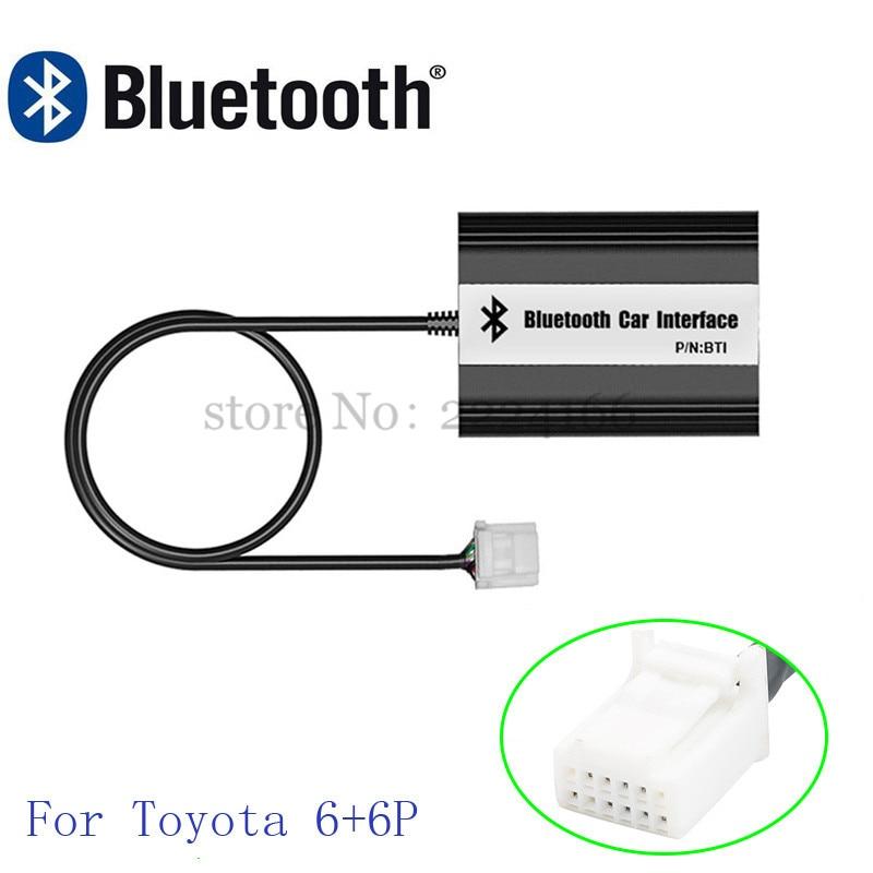 Image 2 - SITAIEL автомобильный Bluetooth A2DP MP3 музыкальный плеер адаптер для toyota, lexus, Scion AUX зарядка через usb Handsfree Bluetooth Автомобильный Стайлинг-in MP3-плеер для авто from Автомобили и мотоциклы