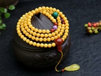 100% 6mm Natural Yellow Amber Gemstone Round Beads Bracelets Gold Amber Pendant Chain Necklace Grade AAAAA Drop Shipping