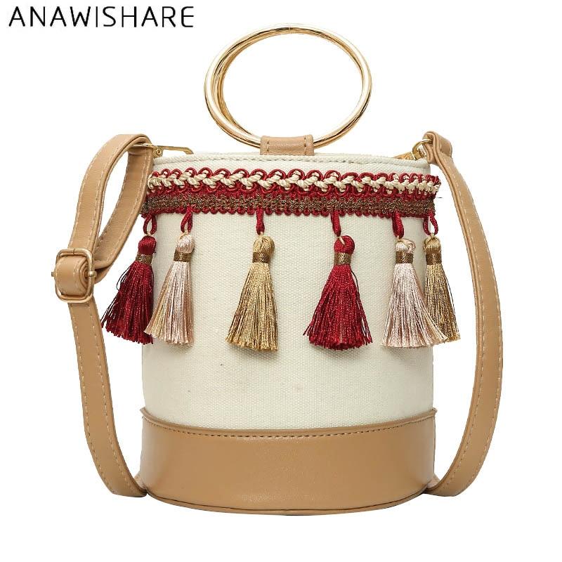Bucket Bags Crossbody Bags For Messenger Bags Tassel Shoulder Bags Designer Handbag Bolsa Feminina Bolsos Muje