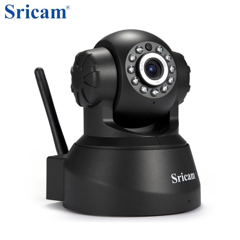 imágenes para Sricam SP012 720 P Wireless IP Cámara de Seguridad Inicio Cámara Wifi Pan/Tilt cámara de Vigilancia P2P Baby Monitor Remote View certificado