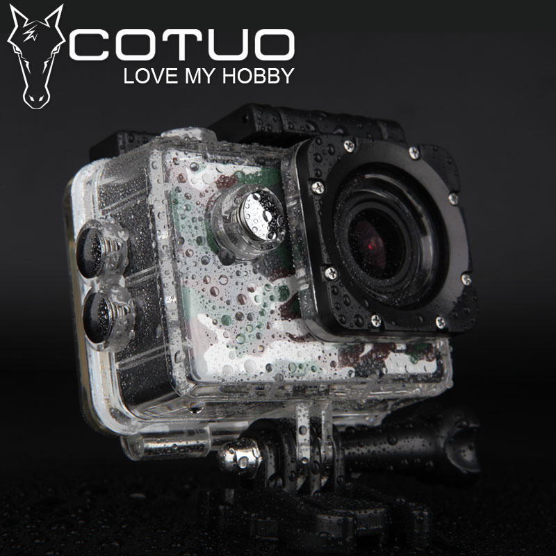 COTUO CS70 Action camera Full HD 1080P 30FPS Novatek96655 Wifi waterproof 30m Diving outdoor Sport camera