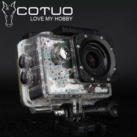 COTUO CS70 Action camera Full HD 1080P 30FPS Novatek96655 Wifi waterproof 30m Diving outdoor Sport camera go sj pro cam 4000