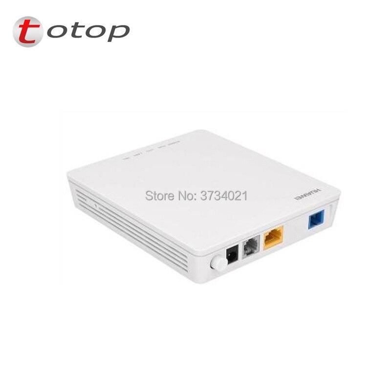 Huawei Echolife ONU ONT HG8311 con 1FE puerto LAN + 1POT inglés firmware 100% nuevo y Original de HUAWEI GPON HG8311 ONT ONU