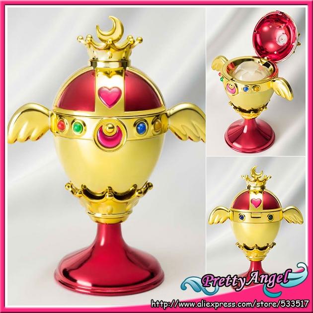 Original Bandai Sailor Moon Proplica Rainbow Moon Chalice Sailor Moon S original bandai shokugan sailor moon butterfly ribbon charm key chain sailor moon