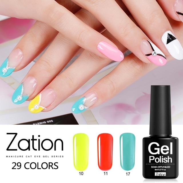 Zation Gel Top Base Jas Emaille Nail Gel Nail Paint Nail Art Polish