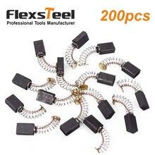 Flexsteel 100 шт/200 шт электрический генератор Угольная щетка