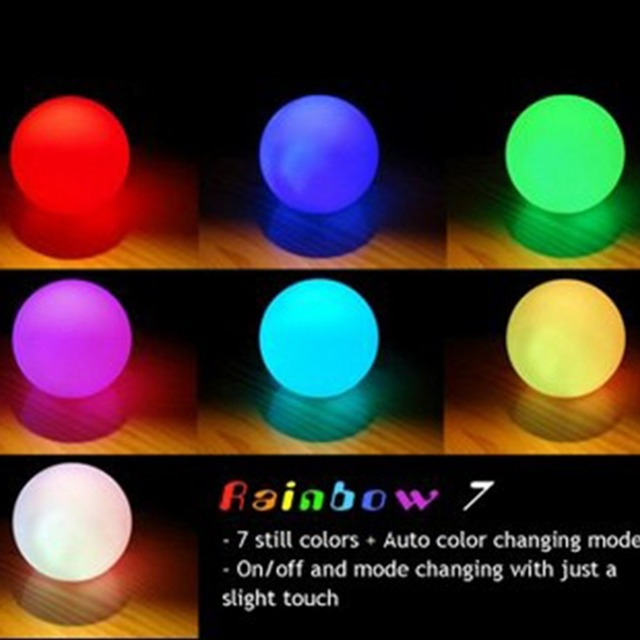 colores que cambian bola de luz LED Mood lámpara de luz nocturna ...
