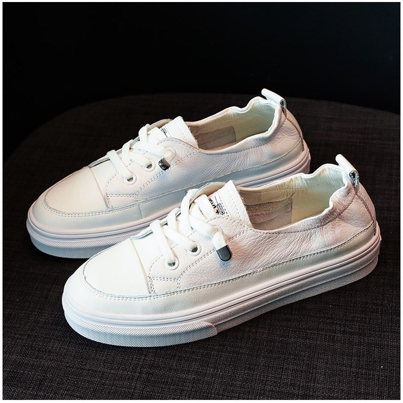 Shoes Women Fashion 2019 Sneakers Summer Casual Shoes White Vulcanized Low Flat Loafers Boat Shoes Non Slip Soft Breathable in Women 39 s Vulcanize Shoes from Shoes