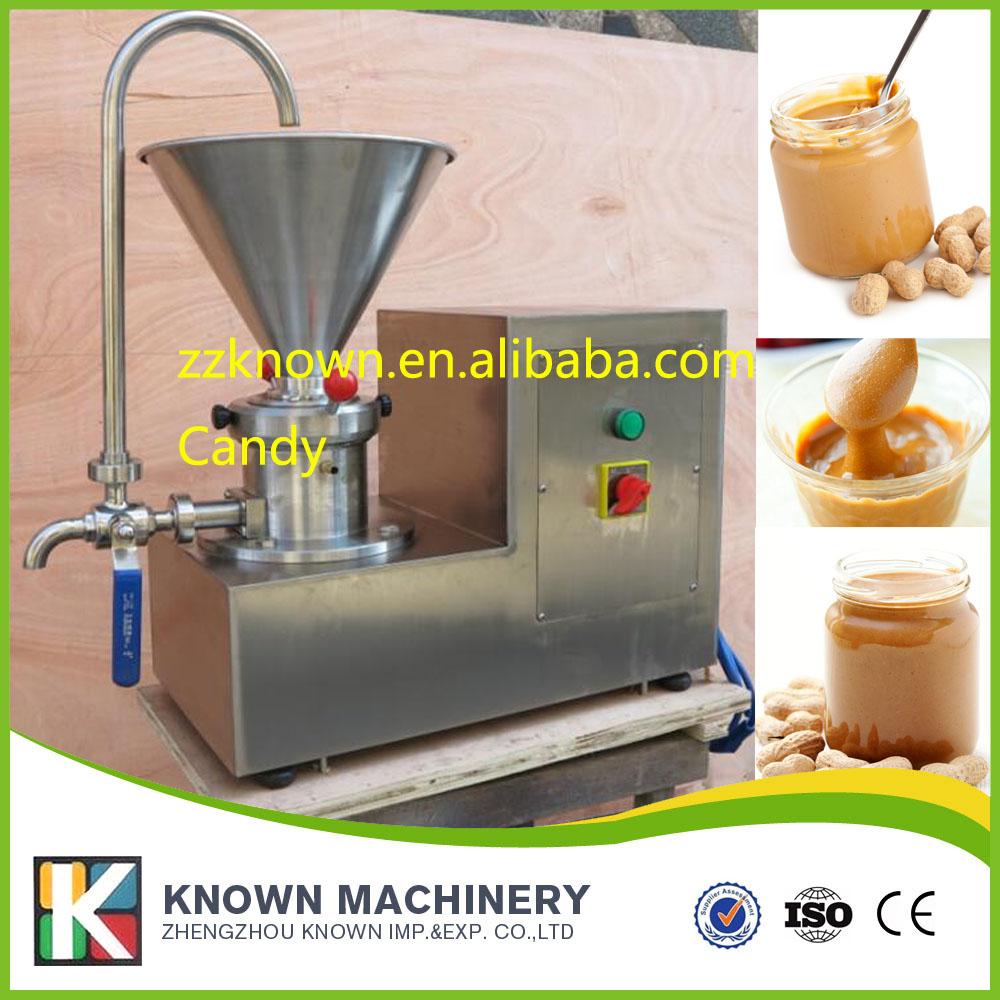 colloid mill grinder, peanut butter maker machine, sesame paste grinder,nut butter making machine food pharmaceutical industry stainless steel seeds peanut butter sesame paste chilli sauce colloid milling machine