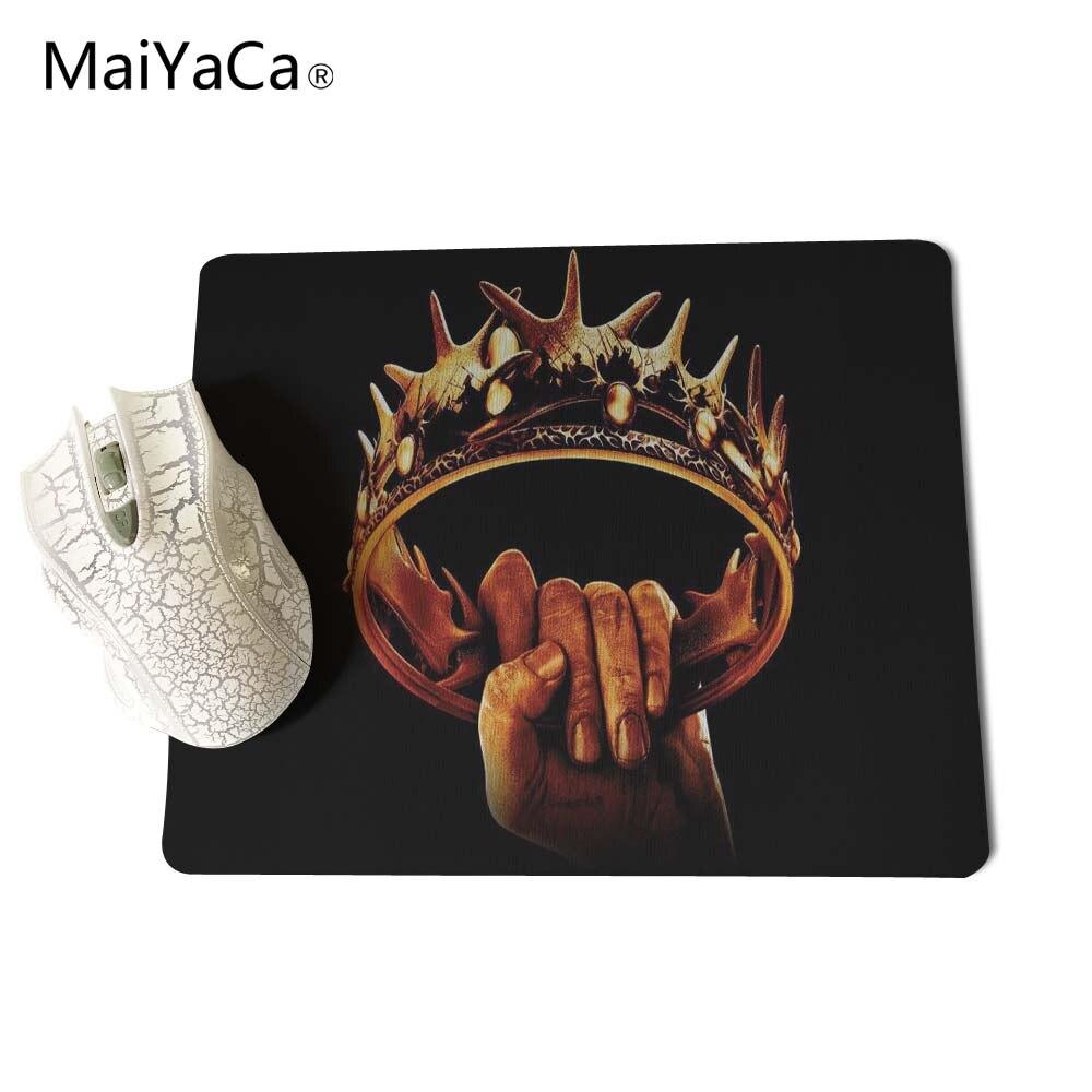 Juego de tronos MaiYaCa Mouse Pad Mouse Mat tamaño 18 * 22 cm y 25 * - Periféricos de la computadora - foto 4