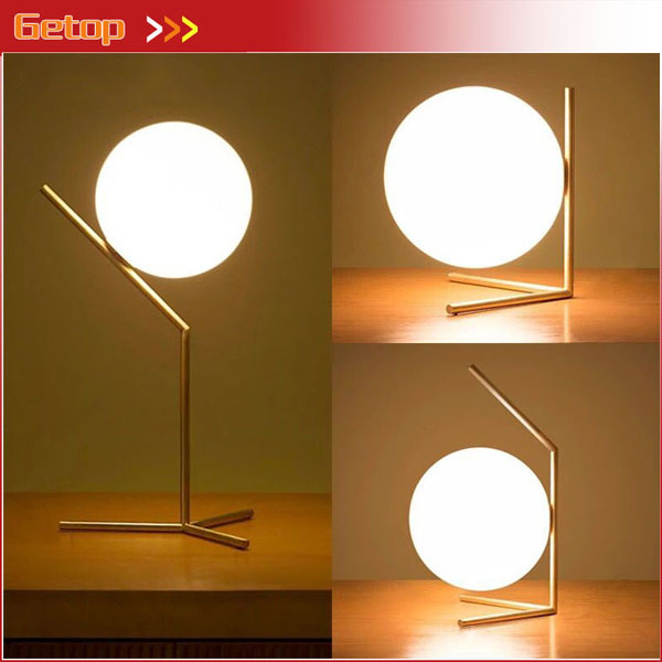 Desk Lamps Lights & Lighting Open-Minded Nordic Modern Simple Bedroom Desk Lamp Creative Personality Metal Decoration Warm Led Milk White Round Table Lamp Three Types With The Best Service