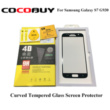 Good quality 4D Full Curved Tempered Glass Screen Protector for Samsung Galaxy S7 G930 good quality myl060b 5623e0369 cnc screen