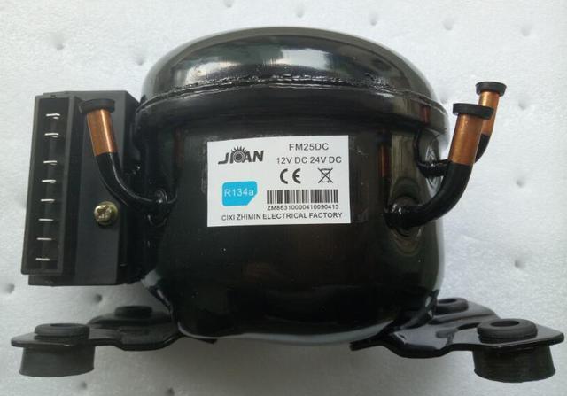 FM25DC/R134A או R600A מקרר מקפיא מדחס DC 12 V/24 V
