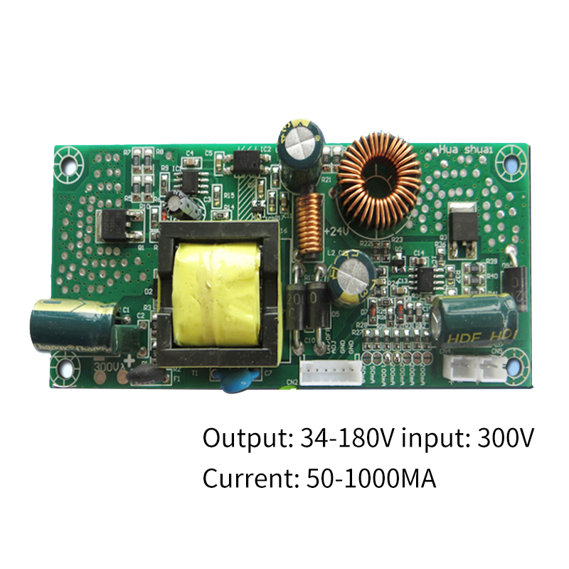 Universal LED LCD TV Universal Backlight Drive Light Bar 50-1000MA Boost Power Supply Constant Current Integrated Board