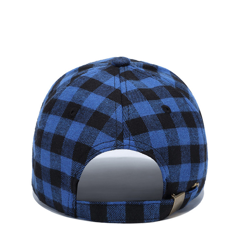 2019 Fashion Snapback Hat Female Bone Baseball Cap Women Muts Summer Muts Male Cap Men Casquette Plaid Gorras Couple Bonnet in Men 39 s Baseball Caps from Apparel Accessories