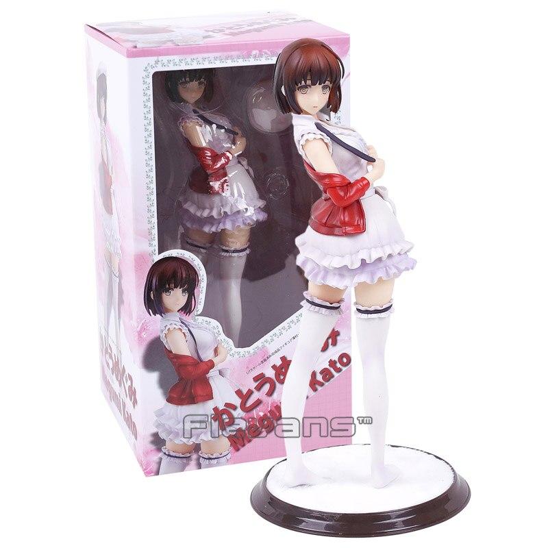 Anime Saenai Heroine No Sodatekata Katou Megumi Stand Ver. Sexy PVC Figure Collectible Model Toy