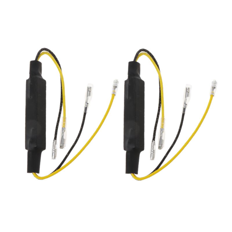Motorcycle Load Resistors Led Turn Signal Led Flasher Turn Signal Indicator Resistor Adaptor Led Resistor 12V Universal Led Re