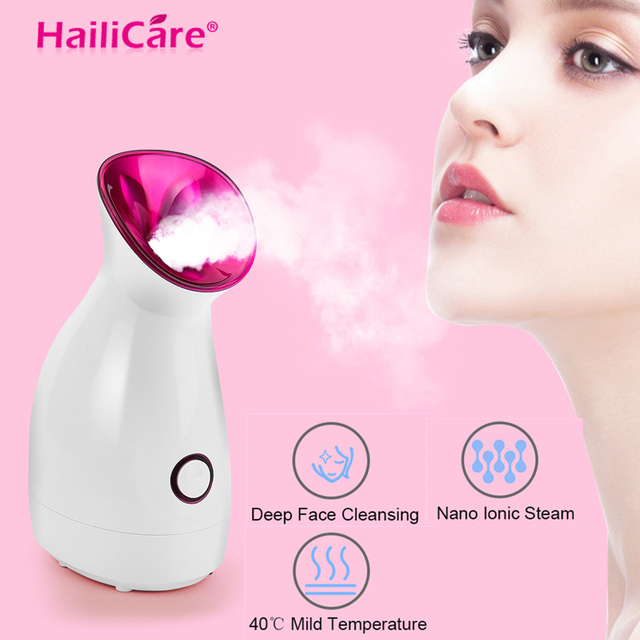 Hot Face Steamer Thermal Pores Deep Cleaning Machine Facial Cleaner Face Steaming Thermal Sprayer Skin Care Tool Beauty Device 1