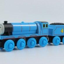 Gordon No.4 Blue Engine Wooden Toy Train Express Locomotive fit for Brio Railway