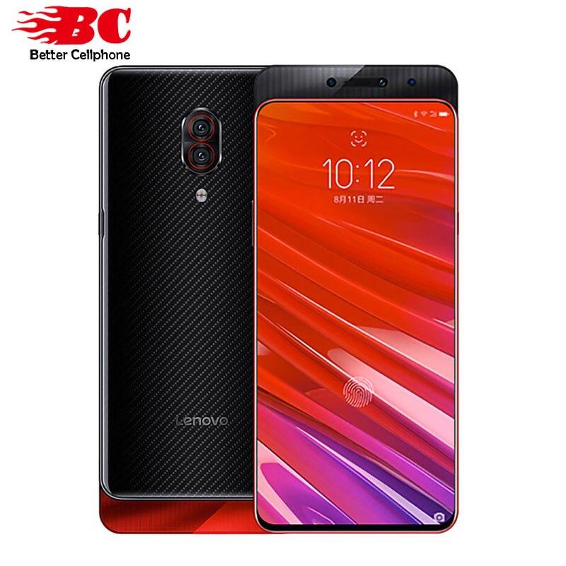 Originale Lenovo Z5 Pro GT 855 6.39 Pollici 24.0MP AI Camera 128 GB di ROM di Impronte Digitali Sotto Display Snapdragon 855 Octa -core 3350 mAh