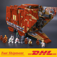 05038 Force Awakens Sandcrawler Wars Building Block Bricks Toys 3346Pcs Compatible Legoings Star Wars