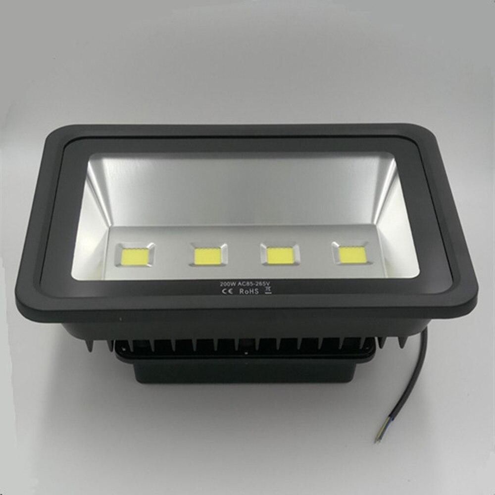 4pcs Waterproof Led Flood light 200W Warm/Cool White Outdoor lighting,Led Floodlight AC85-265V Led Reflector Outdoor Spotlight