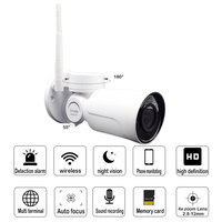 960P 1 3MP PTZ IP Camera 4X ZOOM Waterproof Mini Bullet Wi Fi Camera Outdoor Rotate