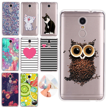GerTong TPU Case For Xiaomi Redmi 4A Note 4X 2 3 Pro Mi MIX Mi Max Mi Max2 Cartoon Animals Painted Shell For Note 4 Global