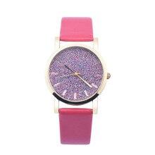 New Design 2016 Sizzling Sale Ladies Girls Leather-based Band Analog Quartz Wrist Watch Aug04 supper enjoyable