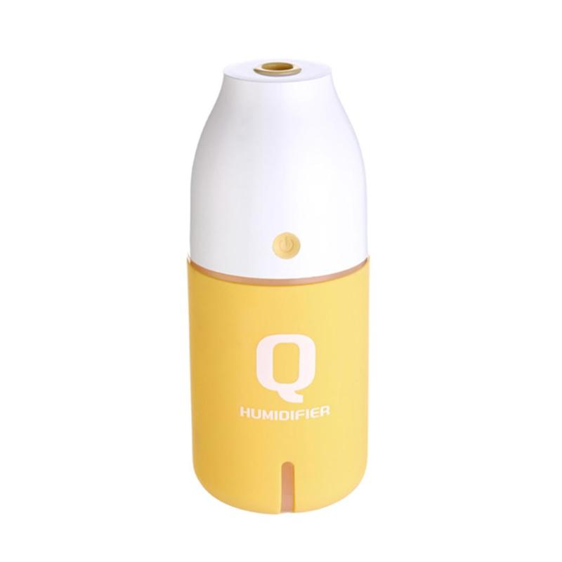 150ml Mini Practical Portable USB Bottle Ultrasonic Humidifier Bottle with LED Night Light Air Purifier Sprayer