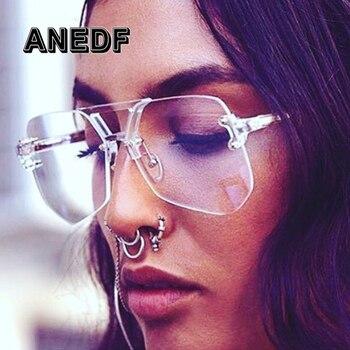 ANEDF Telaio di Alta Qualità Occhiali di Moda Le Donne Occhiali Vintage frame Occhiali Lenti Chiare Occhiali Unici Delle Donne
