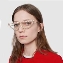 COOLSIR Fashion Diamond Sunglasses Brand Women Rhinestone Luxury Hot Rays Crystal Lady Transparent Shades Sun Glasses Top