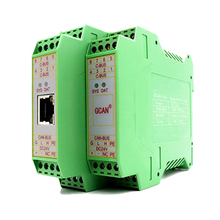Industrial grade Modbus RTU to CAN bus converter  gateway with DIN rail GCAN-204 professional modbus gateway industrial level 2 port rs485 422 modbus rtu to modbus tcp