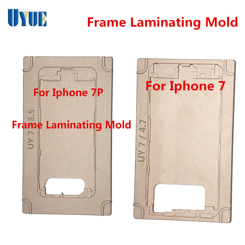 New Arrival for iphone7/7Plus Frame Machine Mould LCD Screen Refurbished Middle Bezel Frame Lamination Machine Mould ia73 original chassis middle housing frame for iphone 4 silver