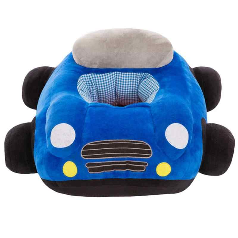 Baby Seats Sofa Toys Car Seat Support Seat Baby Plush Without Filler Car sofa plush toy Blue Pink Red Green