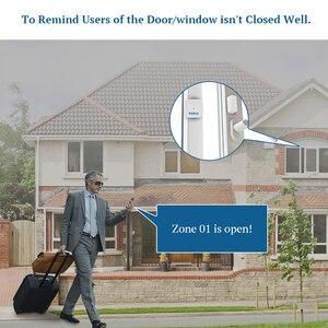 Image 4 - KERUI 5ps D028 seguridad del hogar inteligente portátil Anti manipulación antirrobo alarma ventana puerta Sensor Detector sistema de alarma controlador