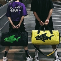 Harajuku Hip Hop Tote Bags Men Women Fashion Travel Trip Shoulder Bags Large Capacity Handbag Top handle Crossbody Bag