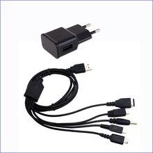 USB Chargeur Avec Câble de Recharge pour GBA SP/PSP/3DS XL/2DS/DS je VAIS/WiiU Console de Jeu