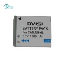 DVISI Batería de ion de litio para Canon Power shot SX520 HS SX530 SX600 SX610 SX700 SX710 IXUS 85 95 3,7 200 210 105