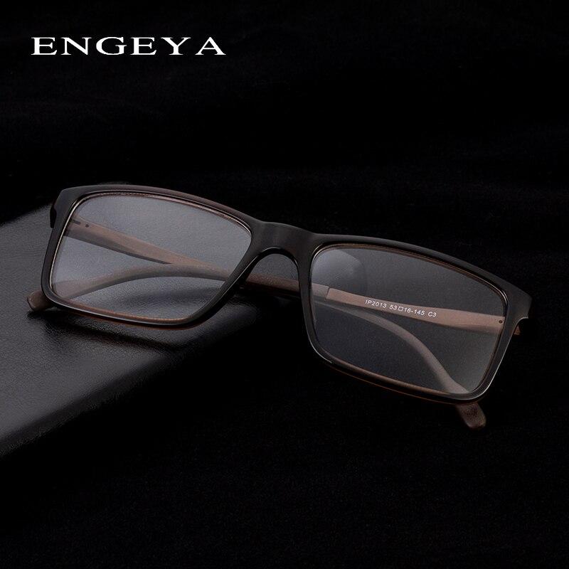 ENGEYA Classic Full TR90 Spectacle Frame,Bright Optical Glasses Brand Reading Frame For Men #IP2013