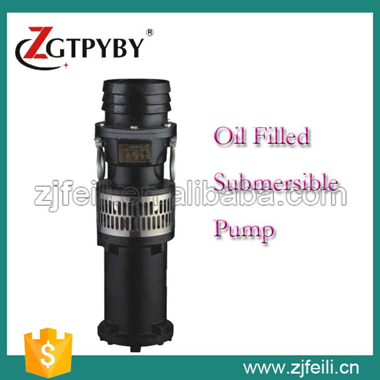 QY vertical single-stage centrifugal pump with oil-filled submersible motor water submerged pump irrigation water pump  цены