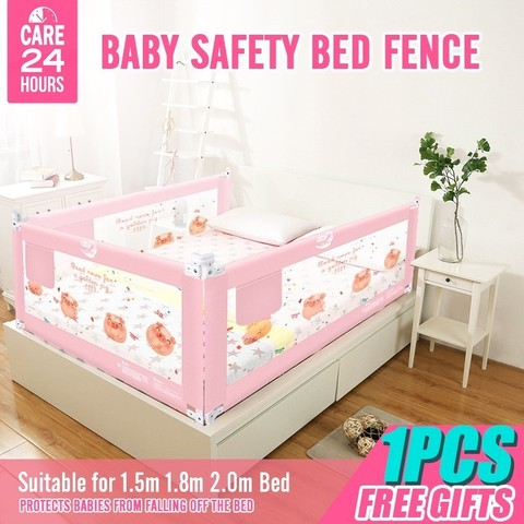 Baby Bed Fence Safety Gate Products child Barrier for beds Crib Rail Security Fencing for Children Guardrail Safe 1PCS 2019 New Pakistan